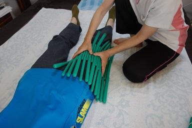 脚全体の疲労・癒着を取る
